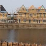 Meerstad in aanbouw